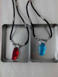 DmC:Devil May Cry Dante Vergil Nephilim Ruby Cosplay Necklace Pendant  #Unbranded