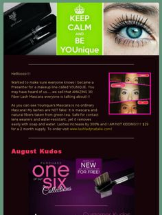 #Younique #3DFiberLashes is no ordinary #Mascara!    #makeup #mua #beauty #makeupgeek #3DMascara #augustkudos #august