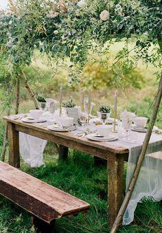 Rustic Table Virginias Vintage Hire Loves!