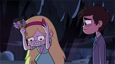 """seddm: """" Black magic was used to make the whole scene fit in one gif. Black magic should be used to mend my shattered heart. Nah, not really. If anything seeing Marco still worrying like this about Star even when Jackie was there warmed my heart. Oh,..."""