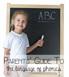 A parents' guide to the language of phonics - what does phonics, phonemes, digraphs and trigraphs means in plain English. (Rainy Day Mum)