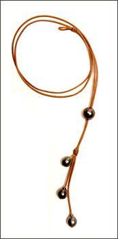 Black Pearl Jewelry La Vie Est Belle // www.lavieestbellegallery.com
