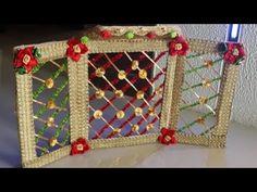 How to make flower Bangla for laddu gopal.#handicraft#laddugopaldecoration#laddugopaljhula - YouTube Diy Crafts Room Decor, Diy Home Crafts, Diy Arts And Crafts, Felt Crafts, Crafts For Kids, Diwali Decorations, Festival Decorations, Ganpati Decoration Design, Ganesh Chaturthi Decoration