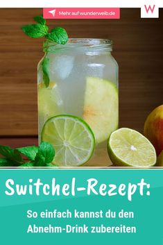 Switchel Recipe: Healthy Diet Drink – Switchel is one of the trend drinks … Healthy Juice Recipes, Healthy Drinks, Switchel Recipe, Jugo Natural, Diet Books, Diet Drinks, Diet And Nutrition, Healthy Weight Loss, Healthy Life