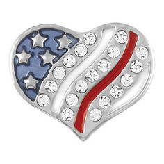 Petite Ginger Snaps USA Heart Shape