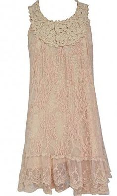 Pretty Angel Clothing Women's Antique Lace Tunic In Mauve