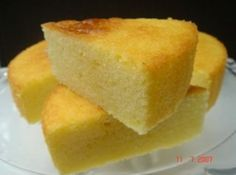 Sun Shine Cake. Leave out food coloring and vanilla for light summer cake