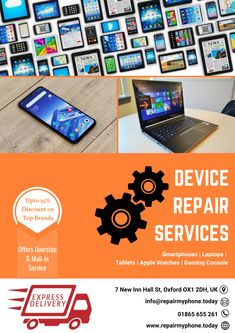 Fix your device right at your doorstep instead of you taking to the store.   Once you place your request, the company will send an experienced technician within a few hours to your place to fix your device on-time without disrupting customer's activities.