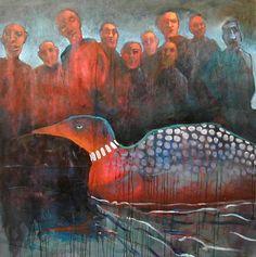 Mel McCuddin-Endangered Species-The Art Spirit Gallery of Fine Art