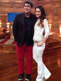 Zeca Camargo e Fernanda Machado.
