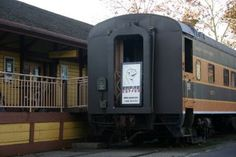 Chicos Art Center is housed in Chicos historic train depot. Just outside the center sits a 1947 Pullman RR car, which is home to Empire Coffee Shop.