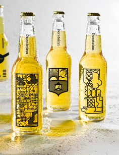 Oh Beautiful Beer celebrates remarkable graphic design from the world of beer. The site is completely dedicated to showcasing beautiful beer branding, packaging Cool Packaging, Beverage Packaging, Bottle Packaging, Brand Packaging, Design Packaging, Coffee Packaging, Kombucha, Icelandic Beer, Bottle Images