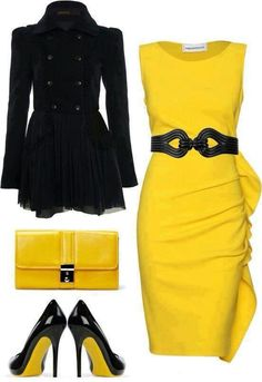 Dress work outfit for a Steelers fan