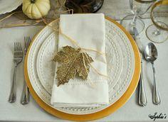 Sophia's: Thanksgiving Table Setting