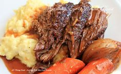 Cooking With Mary and Friends: Slow Cooker Garlicky Eye of Round Roast
