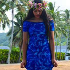 """21 Likes, 1 Comments - TAV PACIFIC (@tav_pacific) on Instagram: """"Our newest blue available ❤️ order your Hina dress $250nzd made to order in your size. …"""""""