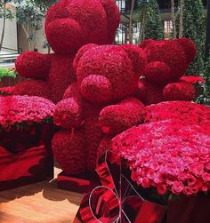 When Jeff Leatham decorates for Christmas. Diy Valentine's Day Decorations, Valentines Day Decorations, Valentines Diy, Rose Bouquet Valentines, Jeff Leatham, All The Bright Places, Luxury Flowers, Cute Diys, Valentine's Day Diy