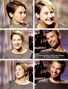 Image discovered by Find images and videos about funny, divergent and four on We Heart It - the app to get lost in what you love. Divergent Memes, Divergent Hunger Games, Divergent Fandom, Insurgent Quotes, Divergent Trilogy, Divergent Insurgent Allegiant, Tfios, Divergent Necklace, Divergent Theo James
