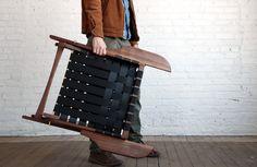 Folding Lounge Chair   Todd St. John