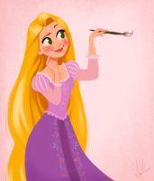 Rapunzel - Año Nuevo, Nuevo Sueño por DylanBonner