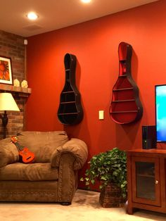 Hey, I found this really awesome Etsy listing at https://www.etsy.com/listing/225592563/guitar-case-shelves-shelf