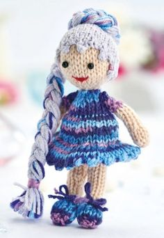 Princess Fifi ~ what a cutie for your little girl to have as a friend ~ KNIT