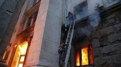 Ukraine crisis: Dozens killed in Odessa fire amid clashes
