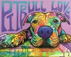 Pit Bull Dogs Awesome Abstract Dog Diamond Paintings - American Pit Bull Terrier information including pictures, training, behavior, and care of Pitbulls and dog breed mixes. They can be affectionate family dogs Pit Bull Love, American Pit, Bull Terrier Dog, Dog Paintings, Dog Art, I Love Dogs, Dog Breeds, Pitbulls, Cute Animals