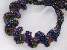 Mitered cellini spiral   Beadwork - Ropes and Spirals
