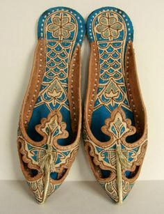 Arabian Shoes - mine would not be leather of course