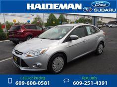 2012 Ford Focus SE Silver $9,443 78000 miles 609-608-0581 Transmission: Automatic  #Ford #Focus #used #cars #HaldemanFord #HamiltonSquare #NJ #tapcars