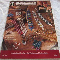 Tribal Beading Friendship Bracelet Booklet - Listia Auction ended 8/2/2015
