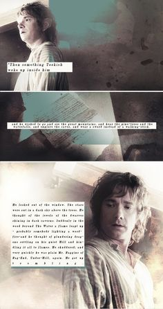 Bilbo Baggins is absolutely ADORABLE! Adorable! I can't get over his face.
