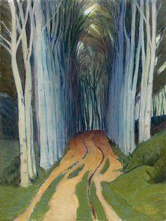 Charles Victor Guilloux (French, 1866-1946), Le Sentier, 1895. Oil on canvas, 61 x 46 cm. Musée d'Art et d'histoire, Meudon.                                                                                                                                                      Plus