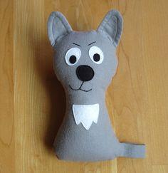 Dog Pattern  Scruffy the Stuffed Doggie PDF Sewing by MyFunnyBuddy, $6.00