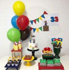 Super Mario Birthday, Mario Birthday Party, Birthday Board, Super Mario Bros, Boy Birthday, Birthday Parties, Mario Kart, Paw Patrol Birthday Cake, Ideas Para Fiestas