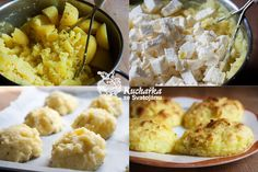 Kuchařka ze Svatojánu: BRAMBOROVÉ BOCHÁNKY Tempeh, Mashed Potatoes, Dairy, Cheese, Ethnic Recipes, Food, Diet, Meal, Essen