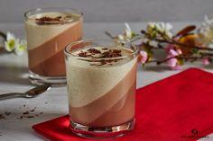 Nutella panna cotta with vanilla - Reisegabel