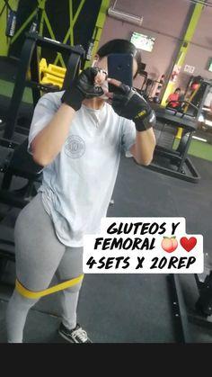 Leg Workout At Home, Gym Workout Tips, Hip Workout, Workout Challenge, Workout Videos, Women's Fitness, Fitness Goals, Fitness Motivation, Gym Girls
