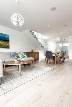 Floors from 'The Block' | Godfrey Hirst New Zealand | Maree and James | Get the look with Regal Oak in Doulton #godfreyhirstnz #theblock #theblocknz #timber #floors #flooring #oak