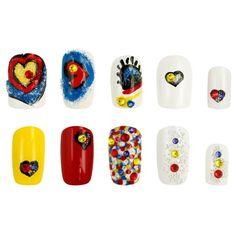 Crystal Pixie COMIC POP - SI te consideras una chica creativa, aquí tienes algunas ideas para decorar tus uñas.