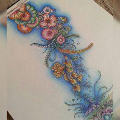 Lost Ocean - Johanna Basford. Inspiration.