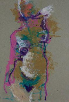"""Saatchi Online Artist Samuel Bonilla; Drawing, """"noche de piel"""" #art"""