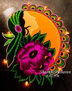 #women #womensday #womensketch #kolam #beboldforthechange #internationalwomensday #pledgeforparity #womenimage #womendrawing # Rangoli Designs Latest, Rangoli Designs Flower, Latest Rangoli, Rangoli Patterns, Rangoli Ideas, Rangoli Designs Images, Rangoli Designs Diwali, Diwali Rangoli, Flower Rangoli