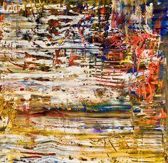 Peter Triantos  Toronto artist oil on canvas Abstract