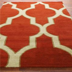 Oversized Moroccan Tile Hand Tufted Rug 2 colors! @Abbie Moldovan this is freakin awesome