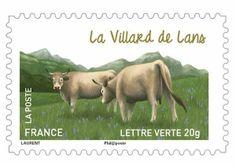 [Philatélie] La Poste Rhône-Alpes dévoile la vache de Villard-de-Lans ce 7 mars 2014, de 10h00 à 18h00 - Maison du Patrimoine de Villard-de-Lans. Stand La Poste et oblitération temporaire, présence de deux vaches Villard-de-Lans et marché paysan. Contact : Aurélien Capdeville / 07 61 44 61 15 aurelien.capdeville@laposte.fr