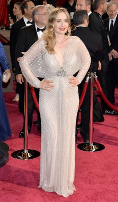 Actress/screenwriter Julie Delpy attends the Oscars held at Hollywood & Highland Center on March 2, 2014 in Hollywood, California.