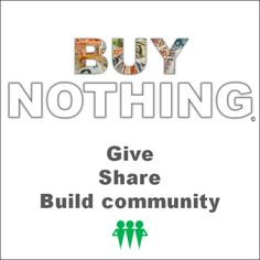 I recently joined my community Buy Nothing group. There are amazing finds on here! Find your local Buy Nothing group and think twice before throwing something away. Diy Hair Detangler, Harvest Day, Stone Pillars, Winner, Family Of 4, Join Our Team, Tote Storage, Community Building, Name Writing