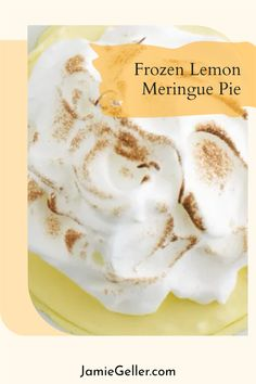 This is one of my favorite Pesach dessert recipes that I handpicked from Gatherings, a cookbook published by Netivot HaTorah Day School, and available through Feldheim Publishers. Prep time does not include freeze time.#5ingredients #glutenfree #lemon Non Dairy Desserts, Passover Desserts, Dessert Recipes, Whipped Topping, Whipped Cream, Lemon Meringue Pie, Cobbler, Freeze, Glutenfree